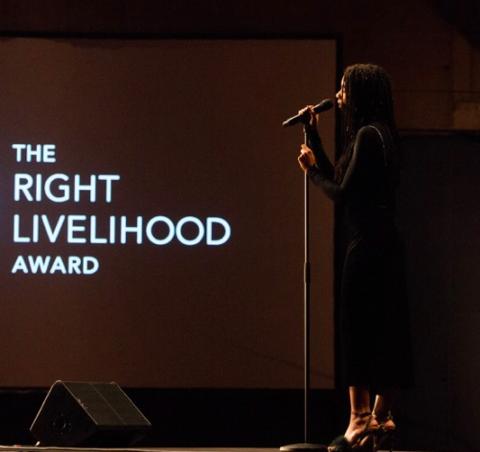 Right Livelihood Award Ceremony